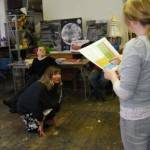 Workshop at the Arts and Wellbeing Event hosted by PANDA and ARC