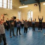 Delivering a workshop at Wigan & Leigh People First