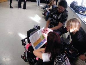 Lisa Simpson Inclusive Dance delivering a workshop